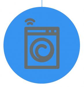 Contactloos betalen bij wasmachines