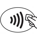 het contactloos betalen logo
