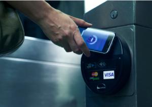 Met een NFC chip kan je gemakkelijk contactloos betalen.