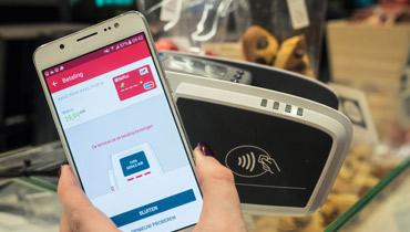 Bancontact app voor contactloos betalen