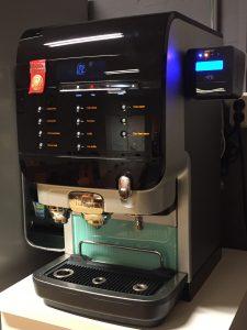 contactloos betalen bij koffieautomaten